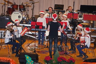 Jugendorchester beim Familiennachmittag 2011