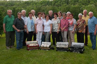 Hobby-Orchester  bei der Winterfeier